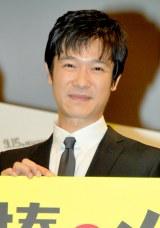 映画『鍵泥棒のメソッド』完成披露試写会前の舞台あいさつに出席した堺雅人 (C)ORICON DD inc.