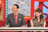 8月5日放送の関西テレビ『お笑いワイドショー マルコポロリ!』で、司会を務める東野幸治(左)が、報道後初めて自身の再婚について詳しく語る
