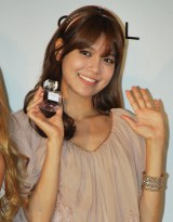 香水ブランド「GiRL DE PROVENCE」ローンチイベントに出席した少女時代のスヨン (C)ORICON DD inc.