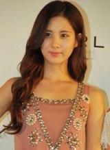 香水ブランド「GiRL DE PROVENCE」ローンチイベントに出席した少女時代のソヒョン (C)ORICON DD inc.