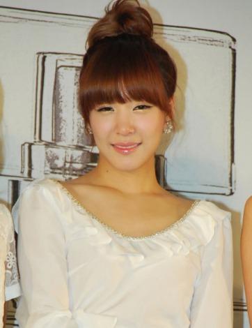 香水ブランド「GiRL DE PROVENCE」ローンチイベントに出席した少女時代のティファニー (C)ORICON DD inc.