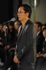 「地井武男さん お別れの会」に出席した水谷豊