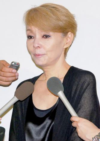 俳優・地井武男さんのお別れの会に参列した研ナオコ (C)ORICON DD inc.