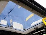 車上の景色を楽しめるパノラミックガラスルーフ