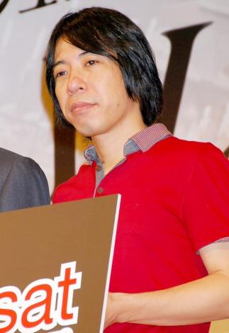 映画『I'M FLASH!』の完成披露舞台あいさつに登壇した豊田利晃監督 (C)ORICON DD inc.