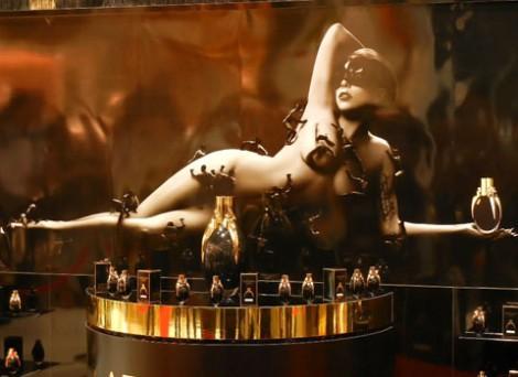 サムネイル レディー・ガガ初プロデュース香水『LADY GAGA FAME』の期間限定ショップ『LADY GAGA HAUS LABORATORIS』が、東急プラザ表参道原宿に世界初オープン (C)ORICON DD inc.