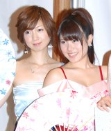 初お披露目された「傾奇エンジェルス」の鈴木涼子(左)と野下怜香 (C)ORICON DD inc.
