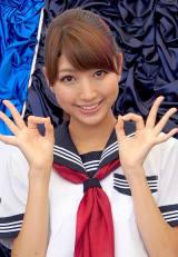 「恋するミタパン」でCDデビューした三田友梨佳アナウンサー (C)ORICON DD inc.