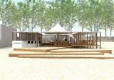 7月7日より葉山・一色海岸に2年ぶりにオープンする、ビーチハウス『Cafe de Rope La mer (カフェ ド ロペ ラ メール)』
