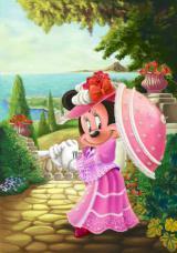 店内に飾られるミニーマウスの絵画(イメージ)(C)Disney