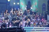 あっちゃんがこけてしまった2010年12月24日実施の『ミュージックステーションスーパーライブ』の模様(C)テレビ朝日