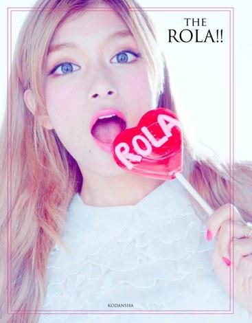 サムネイル ローラ初のファッションブック『THE ROLA!!』