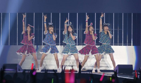 「a-nation musicweek」の女性アイドルイベント『IDOL NATION』でパフォーマンスした東京女子流