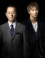 """水谷豊(左)と""""新相棒""""成宮寛貴(右)の『相棒season11』10月放送開始(C)テレビ朝日"""