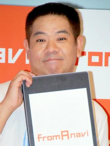 リクルート『fromA navi』新CM発表会に出席したFUJIWARA・原西孝幸 (C)ORICON DD inc.