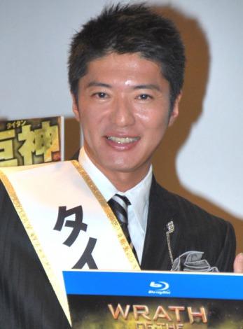 およそ4年ぶりに公の場に登場した長井秀和 (C)ORICON DD inc.