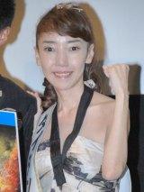 映画『タイタンの逆襲』ブルーレイ&DVD発売記念イベントに出席した太田光代 (C)ORICON DD inc.