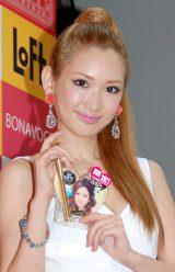 自身のプロデュースコスメブランド『BONAVOCE』発売記念プレミアム女子会イベントを行った紗栄子 (C)ORICON DD inc.