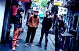 ベーシスト・桑原康伸(右から2人目)の体調不良により全国ツアー5公演中止を発表したガガガSP