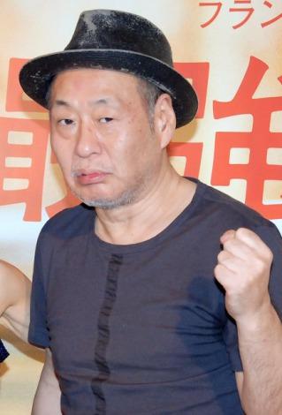 映画『最強のふたり』の公開記念トークショーを行った泉谷しげる (C)ORICON DD inc.
