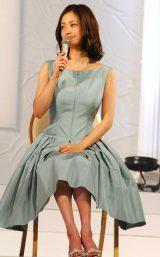 『第13回全日本国民的美少女コンテスト』のトークショーに出演した上戸彩 (C)ORICON DD inc.