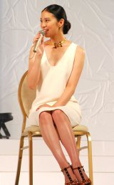 『第13回全日本国民的美少女コンテスト』のトークショーに出演した武井咲 (C)ORICON DD inc.