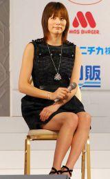 『第13回全日本国民的美少女コンテスト』のトークショーに出演した米倉涼子 (C)ORICON DD inc.