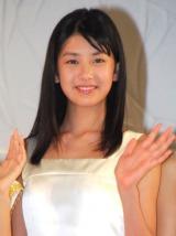 『第13回全日本国民的美少女コンテスト』でグランプリに輝いた小澤奈々花さん (C)ORICON DD inc.