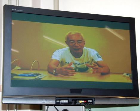エベレスト単独・無酸素登山への挑戦を発表した栗城史多に所ジョージがメッセージ (C)ORICON DD inc.