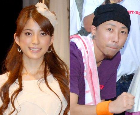 サムネイル 結婚・入籍を発表した上原多香子とET-KINGのTENN (C)ORICON DD inc.