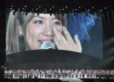 高橋みなみ(スクリーン)はAKB48総監督に就任(写真:鈴木一なり)