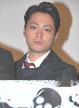 映画『闇金ウシジマくん』初日舞台あいさつに出席した山田孝之 (C)ORICON DD inc.