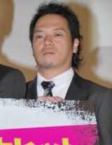 映画『闇金ウシジマくん』初日舞台あいさつに出席したやべきょうすけ (C)ORICON DD inc.