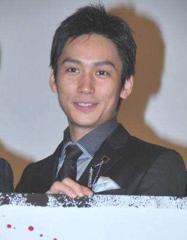 映画『闇金ウシジマくん』初日舞台あいさつに出席した崎本大海 (C)ORICON DD inc.