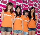 お披露目され「ミスセブンティーン2012」の4人 (C)ORICON DD inc.