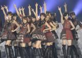 初の東京ドーム3days最終日に『24時間テレビ』に生中継で出演したAKB48(写真:鈴木一なり)