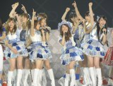 """前田敦子がいない""""新体制""""AKB48お披露目=AKB48念願の東京ドーム3days最終日公演(写真:鈴木一なり)"""