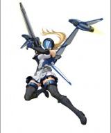 """シリーズ最新作PSvita用『地球防衛軍3ポータブル』では、ファン待望の空飛ぶ女性兵士""""ペイルウイング""""が特別参戦(C)2012 SANDLOT (C)2012 D3 PUBLISHER"""
