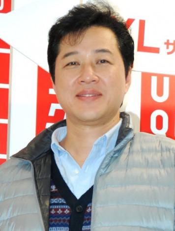ユニクロの特別サイズ商品販売イベントに出席した川合俊一 (C)ORICON DD inc.