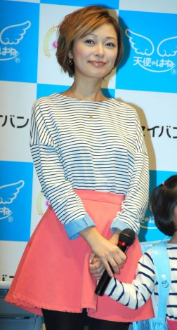 ランドセルファッションショー『SEIBAN COLLECTION 2012』にゲスト出演した市井紗耶香 (C)ORICON DD inc.