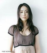 第1子女児を出産した女優の中村優子