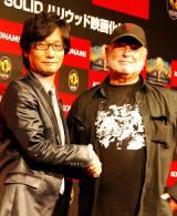 ハリウッド映画化を発表した(左から)小島秀夫監督とアヴィ・アラッド氏 (C)ORICON DD inc.