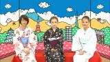 「テレ朝動画」に新コンテンツ『板野友美のいいねJAPAN』が登場。MCの板野友美(中央)、初回ゲストのあびる優(右)、進行係の前田有紀アナ(左) (C)テレビ朝日