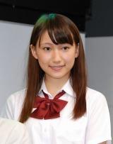 赤坂サカスで行われたTBS系主演ドラマ『黒の女教師』のイベントに出席した大野いと (C)ORICON DD inc.