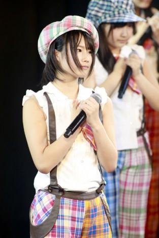 学業専念のためNMB48卒業を発表した城恵理子(13)(C)NMB48