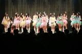 城恵理子が卒業を発表したチームM公演の模様(C)NMB48