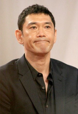 NHK朝の連続テレビ小説『あまちゃん』出演者発表会見に出席した杉本哲太 (C)ORICON DD inc.