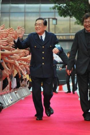 映画『踊る大捜査線  THE  FINAL  新たなる希望』公開初日レッドカーペットに出席した北村総一朗 (C)ORICON DD inc.