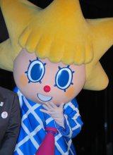 東京スカイツリータウンで行われた点灯式に出席したソラカラちゃん (C)ORICON DD inc.