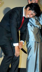 映画『踊る大捜査線  THE  FINAL  新たなる希望』公開初日舞台あいさつに出席した織田裕二 (C)ORICON DD inc.